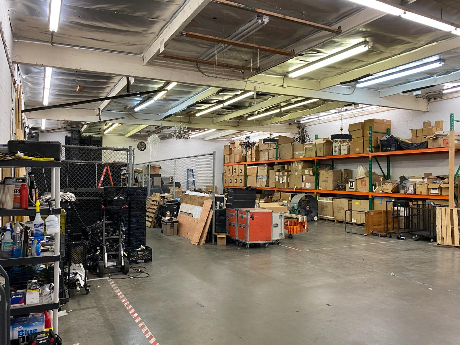 LAX adjacent industrial warehouse space available for flexible short-term lease.
