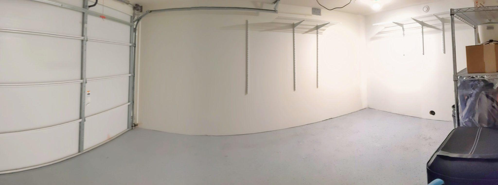 Convenient Garage Storage Space
